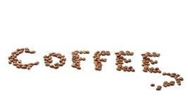 Kaffeemosaik. Ausschnittspfad Stockfoto