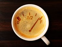 Kaffeenachfüllung Lizenzfreie Stockfotografie