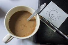 Kaffeepause für Idee Lizenzfreie Stockbilder