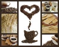 Kaffeepausehintergrund Stockbild
