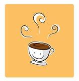 Kaffeepauseikone Lizenzfreie Stockfotos