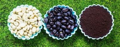 Kaffeepulver Lizenzfreies Stockbild