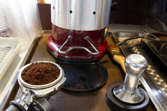 Kaffeepulver Lizenzfreie Stockfotos