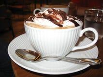 Kaffeesahne choclate Lizenzfreie Stockfotografie