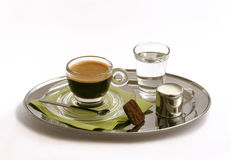 Kaffeesatz Lizenzfreie Stockbilder