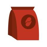 Kaffeesatz-Papierbild Lizenzfreie Stockfotografie