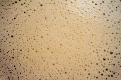 Kaffeeschaumgummi Lizenzfreies Stockbild