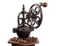 Kaffeeschleifer Stockfoto
