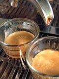 Kaffeeschuß Stockfotografie