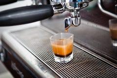 Kaffeeschussespresso Stockbild