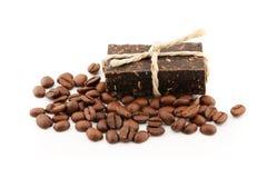 Kaffeeseife stockbilder