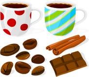 Kaffeeset Lizenzfreie Stockfotografie