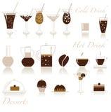Kaffeeset Stockbilder