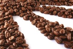 Kaffeesonne Stockfoto