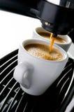 kaffeespresso Arkivfoton