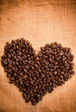 Kaffeestartwert für zufallsgeneratorfeld stockfotografie