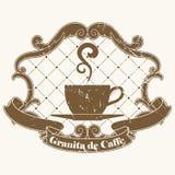 Kaffeestempel Lizenzfreie Stockfotografie