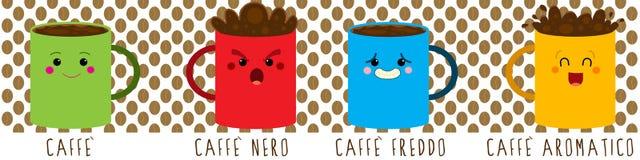 Kaffeestimmung Lizenzfreies Stockfoto