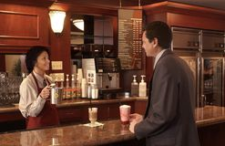 Kaffeestube Lizenzfreies Stockbild