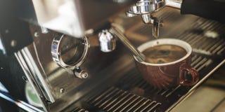 Kaffeestube-Cafeteria-Restaurant-Servicekonzept stockfotos