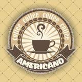 Kaffeesymbol Stockfotos
