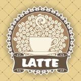 Kaffeesymbol Lizenzfreies Stockfoto