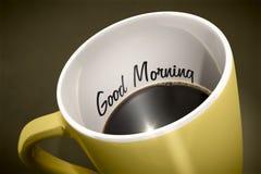 Kaffeetasseüberraschung Lizenzfreies Stockbild