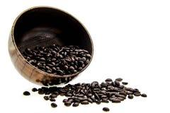 Kaffeetasse auf einem weißen Hintergrund Stockbild