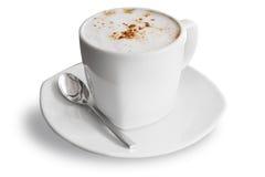 Kaffeetasse getrennt auf Weiß Lizenzfreies Stockbild