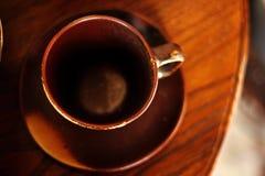 Kaffeetasse hergestellt von keramischem stockfotos