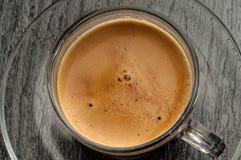 Kaffeetasse mit coffe lizenzfreie stockfotografie