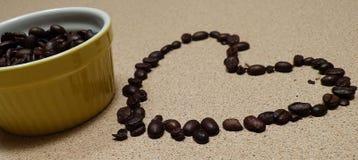 Kaffeetasse mit Innerem Lizenzfreie Stockbilder