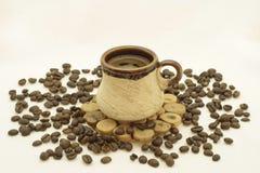 Kaffeetasse-noch Leben Stockfotos