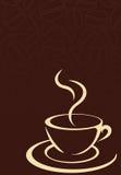Kaffeetasse und Kaffeebohnen Lizenzfreie Stockbilder