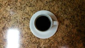 Kaffeetasse von oben stockbilder