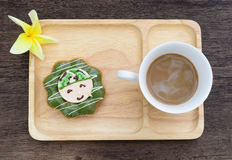 Kaffeetasse - Weinleseeffekt-Artbilder stockfotografie