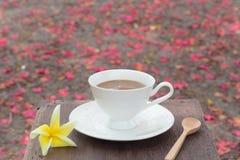 Kaffeetasse - Weinleseeffekt-Artbilder lizenzfreie stockbilder