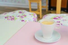 Kaffeetasse - Weinleseeffekt-Artbilder lizenzfreies stockfoto