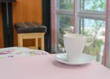 Kaffeetasse - Weinleseeffekt-Artbilder lizenzfreies stockbild