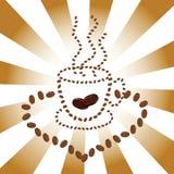 Kaffeetasseabbildung stockfoto