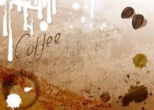 Kaffeetassefleck lizenzfreie abbildung