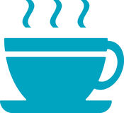Kaffeetasseikone Stock Abbildung