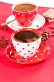 Kaffeetassen Lizenzfreie Stockfotos