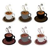 Kaffeetassen Vektor Abbildung