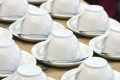 Kaffeetassen Stockfotos