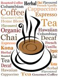 Kaffeetassevektor stock abbildung