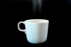Kaffeetasseweiß Lizenzfreie Stockbilder
