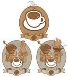 Kaffeeweinlese Stockfoto