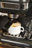 kaffeexpressotillverkare Fotografering för Bildbyråer