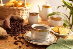 Kaffeezeit Stockfotografie